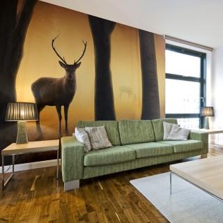 Φωτοταπετσαρία - Deer in his natural habitat
