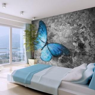Φωτοταπετσαρία - Blue butterfly