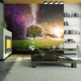 Φωτοταπετσαρία - Magic tree