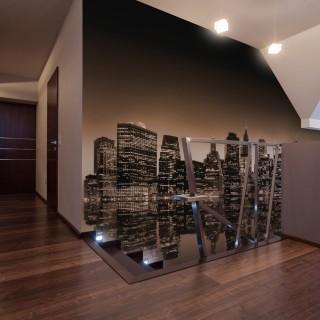 Φωτοταπετσαρία - New York - sepia