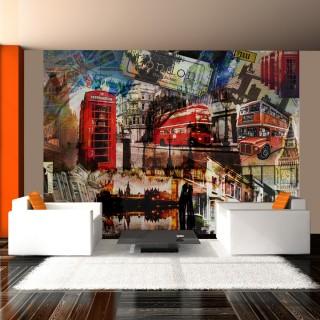 Φωτοταπετσαρία - London collage