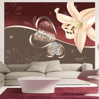 Φωτοταπετσαρία - Cream lily