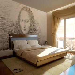 Φωτοταπετσαρία - Mona Lisa's thoughts