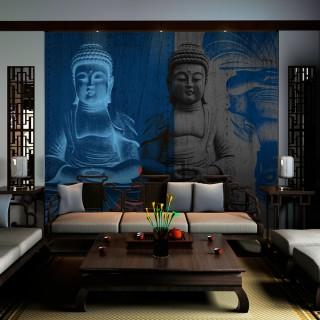 Φωτοταπετσαρία - Three incarnations of Buddha