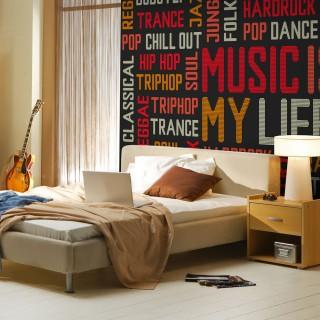 Φωτοταπετσαρία - Music is my life