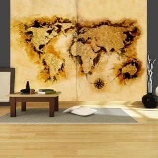 Φωτοταπετσαρία - Gold-diggers' map of the World