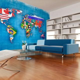 Φωτοταπετσαρία - Flags of countries