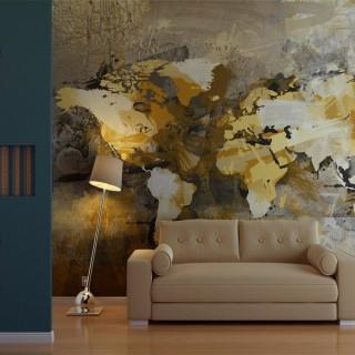 Φωτοταπετσαρία - Artistic map of the World