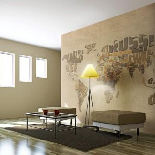 Φωτοταπετσαρία - Explorers' map of the World