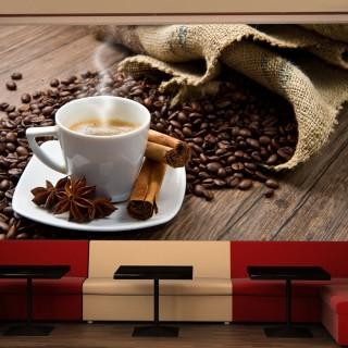 Φωτοταπετσαρία - Star anise coffee