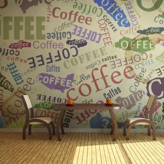 Φωτοταπετσαρία - The fragrance of coffee