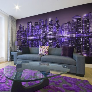 Ταπετσαρία XXL - American violet