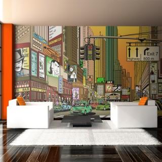 Ταπετσαρία XXL - Vibrant city - NY
