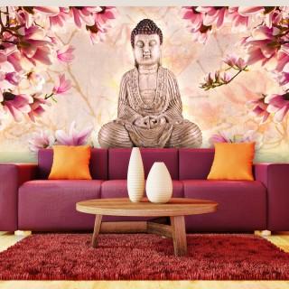 Ταπετσαρία XXL - Buddha and magnolia