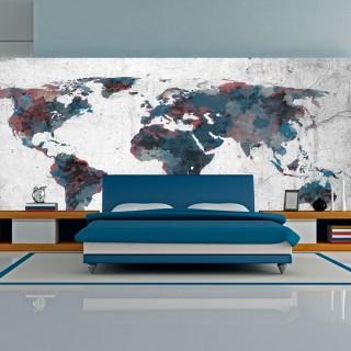 Ταπετσαρία XXL - World map on the wall