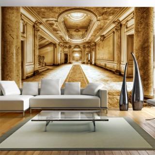 Αυτοκόλλητη φωτοταπετσαρία - Mystery marble - sepia