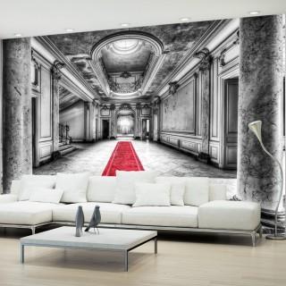 Αυτοκόλλητη φωτοταπετσαρία - Mystery marble - black and white