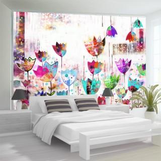 Φωτοταπετσαρία - Colorful tulips