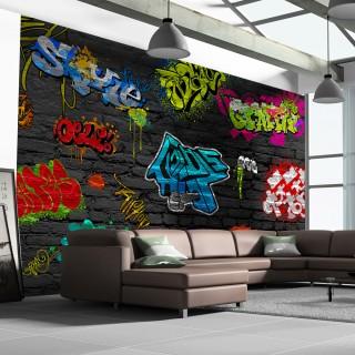 Φωτοταπετσαρία - Graffiti wall