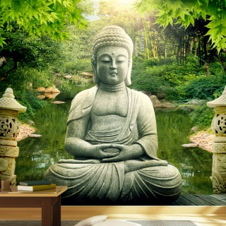 Φωτοταπετσαρία - Buddha's garden