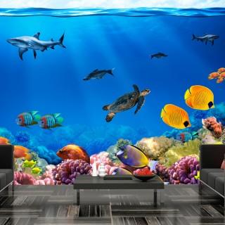 Φωτοταπετσαρία - Underwater kingdom