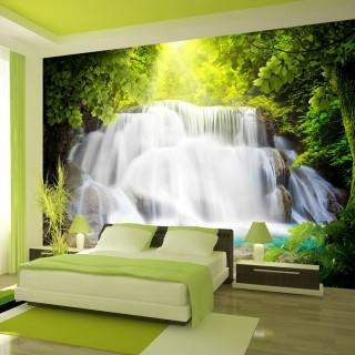 Αυτοκόλλητη φωτοταπετσαρία - Arcadian waterfall