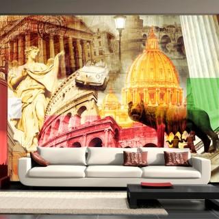 Φωτοταπετσαρία - Rome - collage