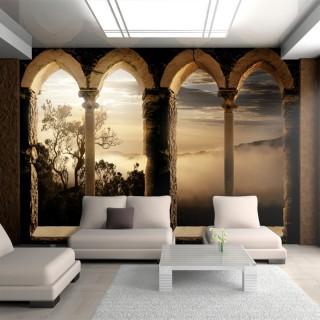 Αυτοκόλλητη φωτοταπετσαρία - Mountain monastery