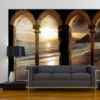 Φωτοταπετσαρία - Castle on the beach