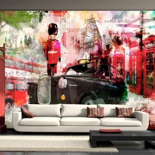 Φωτοταπετσαρία - Streets of London