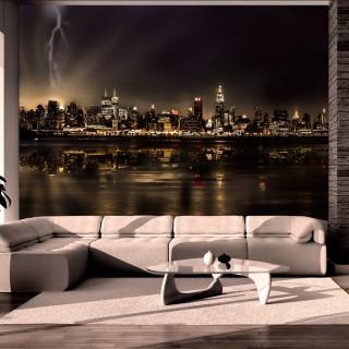 Φωτοταπετσαρία - Storm in New York City