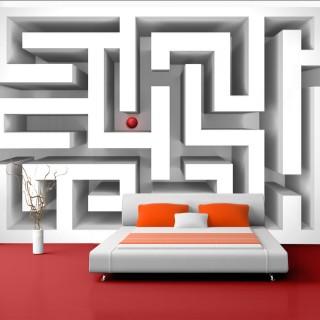 Φωτοταπετσαρία - Ice labyrinth