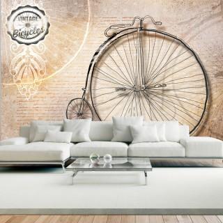 Φωτοταπετσαρία - Vintage bicycles - sepia