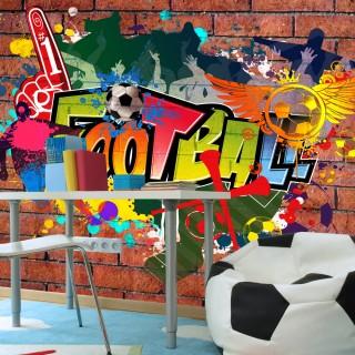 Φωτοταπετσαρία - Football fans!