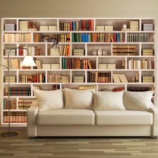 Φωτοταπετσαρία - Home library