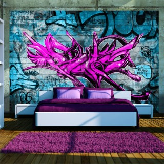 Φωτοταπετσαρία - Anonymous graffiti