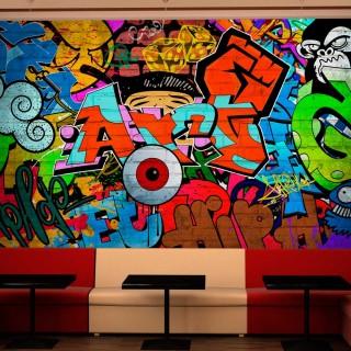 Φωτοταπετσαρία - Graffiti art
