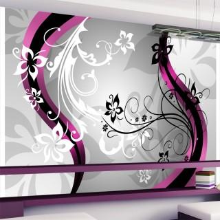 Φωτοταπετσαρία - Art-flowers (pink)