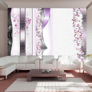 Φωτοταπετσαρία - Parade of orchids in violet