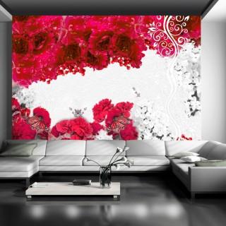 Φωτοταπετσαρία - Colors of spring: red