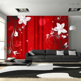 Φωτοταπετσαρία - Flowering scarlet