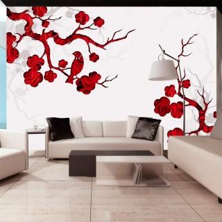 Φωτοταπετσαρία - Red bush