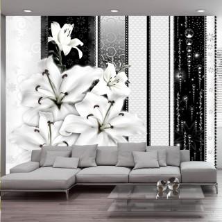 Φωτοταπετσαρία - Crying lilies in white