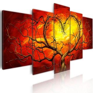 Πίνακας - Burning heart