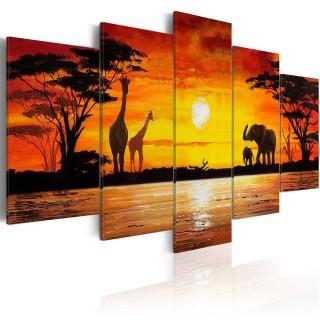 Πίνακας - Hot Safari
