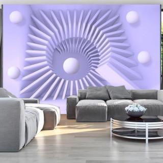 Αυτοκόλλητη φωτοταπετσαρία - Lavender maze