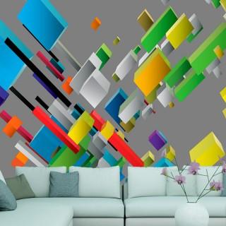 Φωτοταπετσαρία - Color puzzle