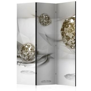 διαχωριστικό με 3 τμήματα - Abstract Diamonds [Room Dividers]