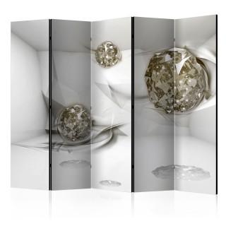 διαχωριστικό με 5 τμήματα - Abstract Diamonds II [Room Dividers]