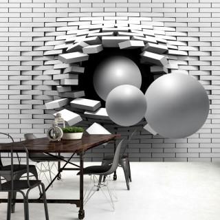 Αυτοκόλλητη φωτοταπετσαρία - Brick In The Wall